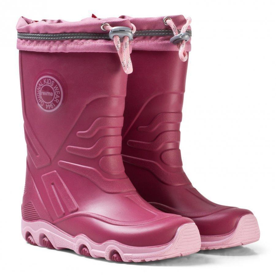 Reima Slate Rain Boots Dark Berry Kumisaappaat
