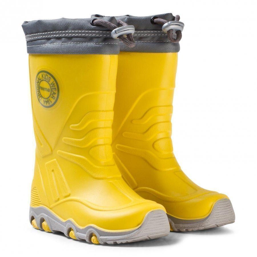 Reima Slate Rain Boots Yellow Kumisaappaat