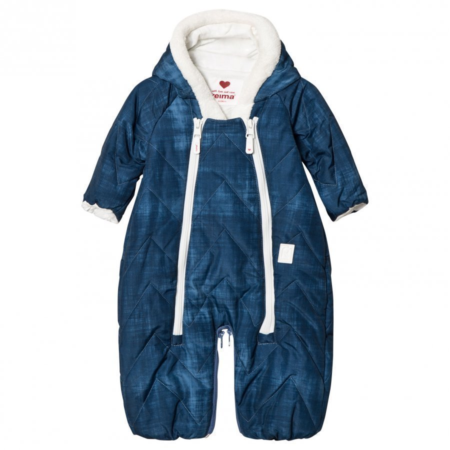 Reima Sleeping Bag/Coverall Nalle Soft Blue Vauvan Haalari