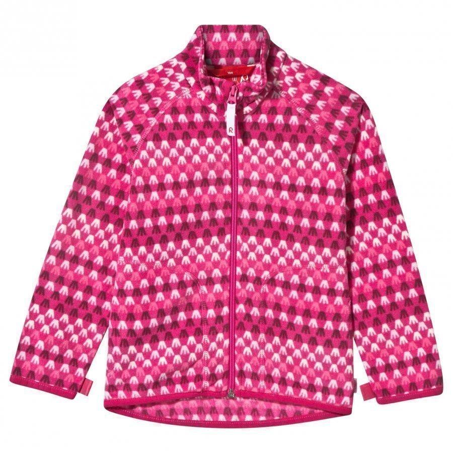 Reima Steppe Fleece Jacket Pink Fleece Housut