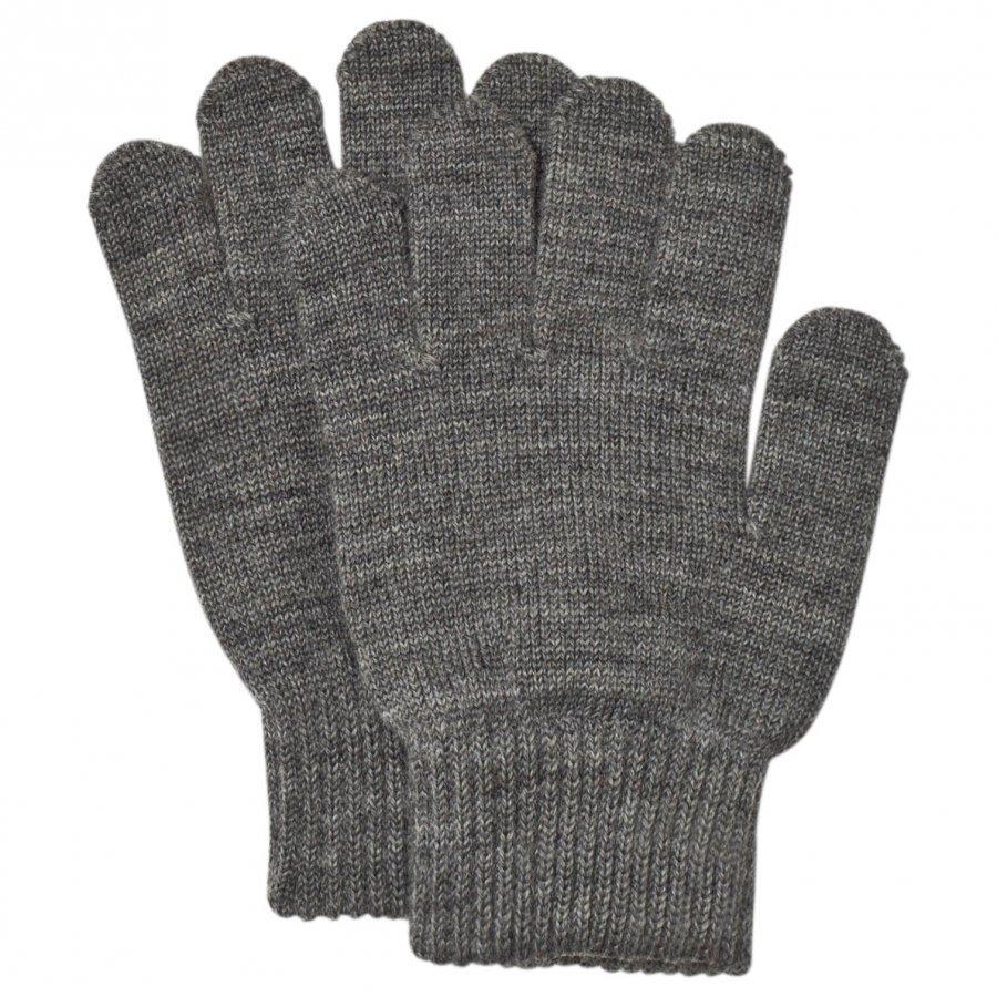 Reima Twig Gloves Melange Grey Villahanskat