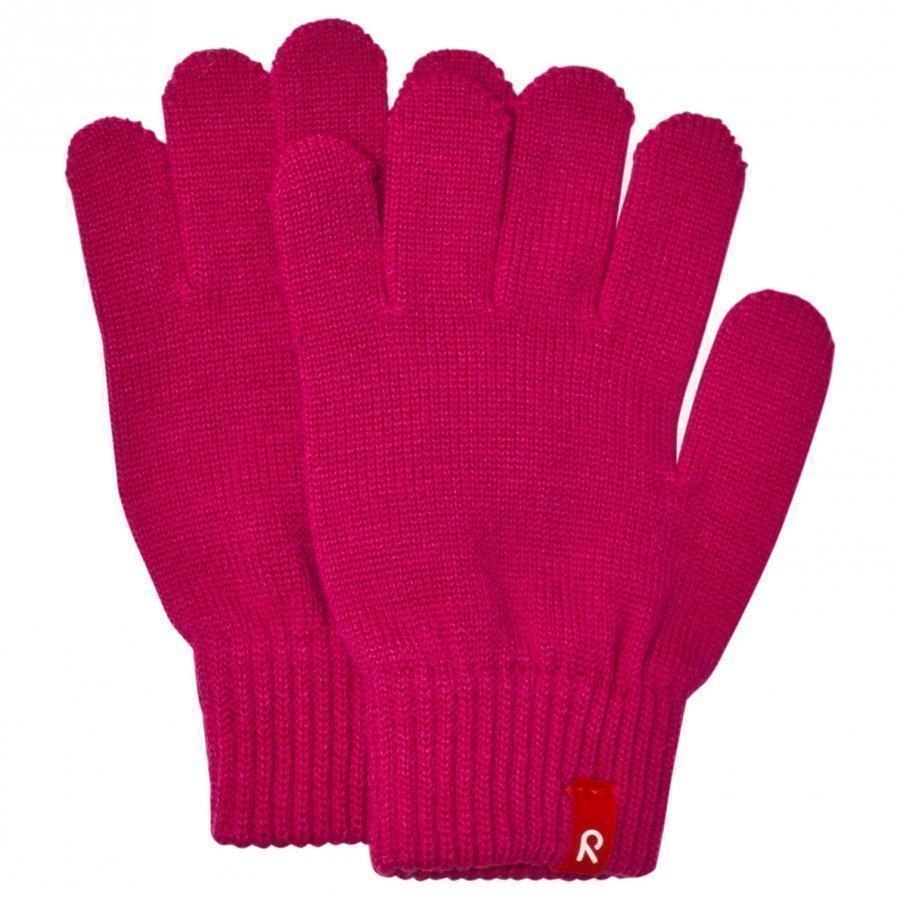 Reima Twig Gloves Pink Villahanskat
