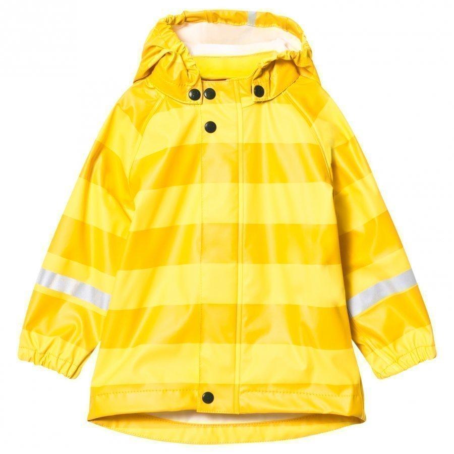 Reima Vesi Raincoat Yellow Sadetakki