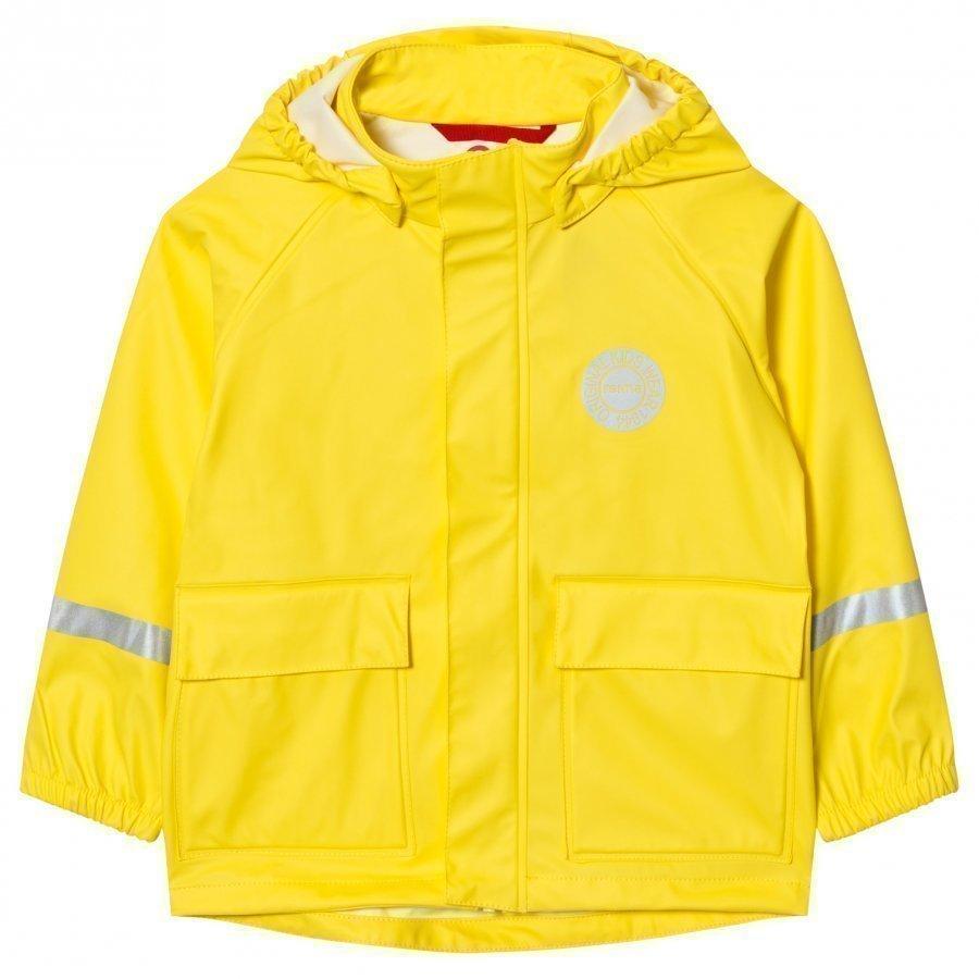 Reima Vihma Raincoat Yellow Sadetakki