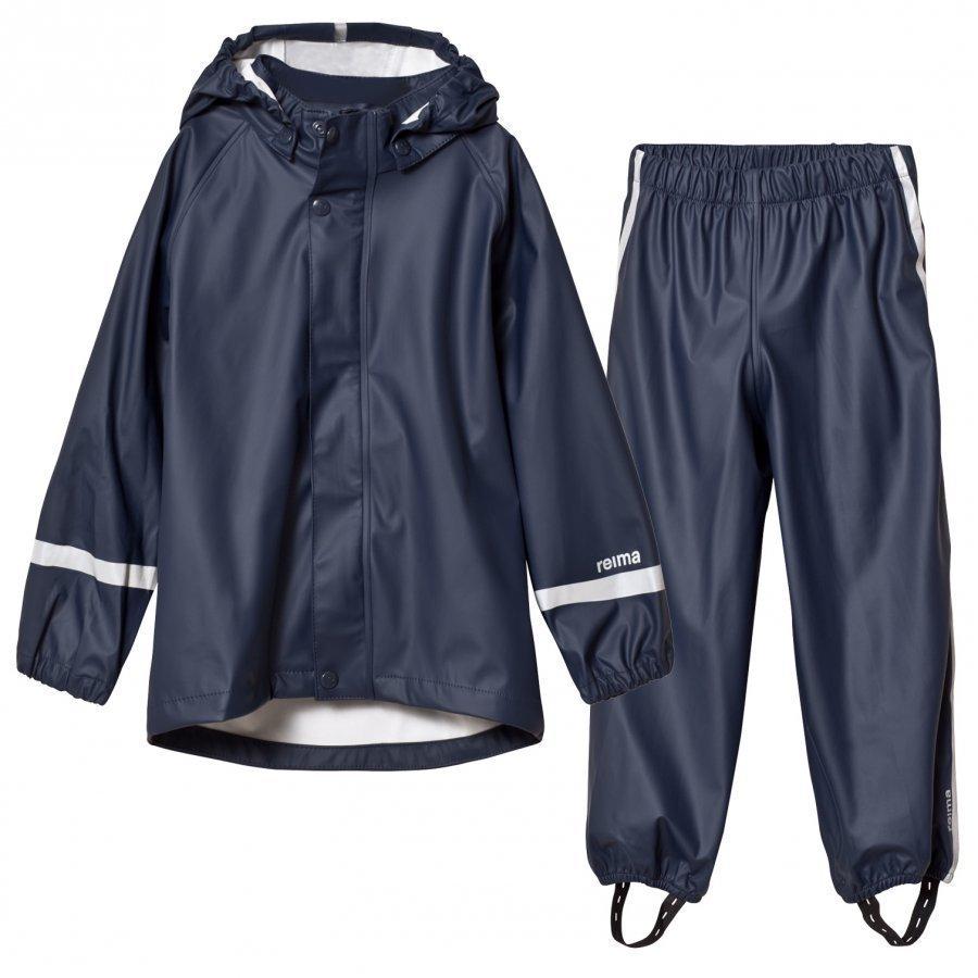 Reima Viima Rain Outfit Navy Sadesetti