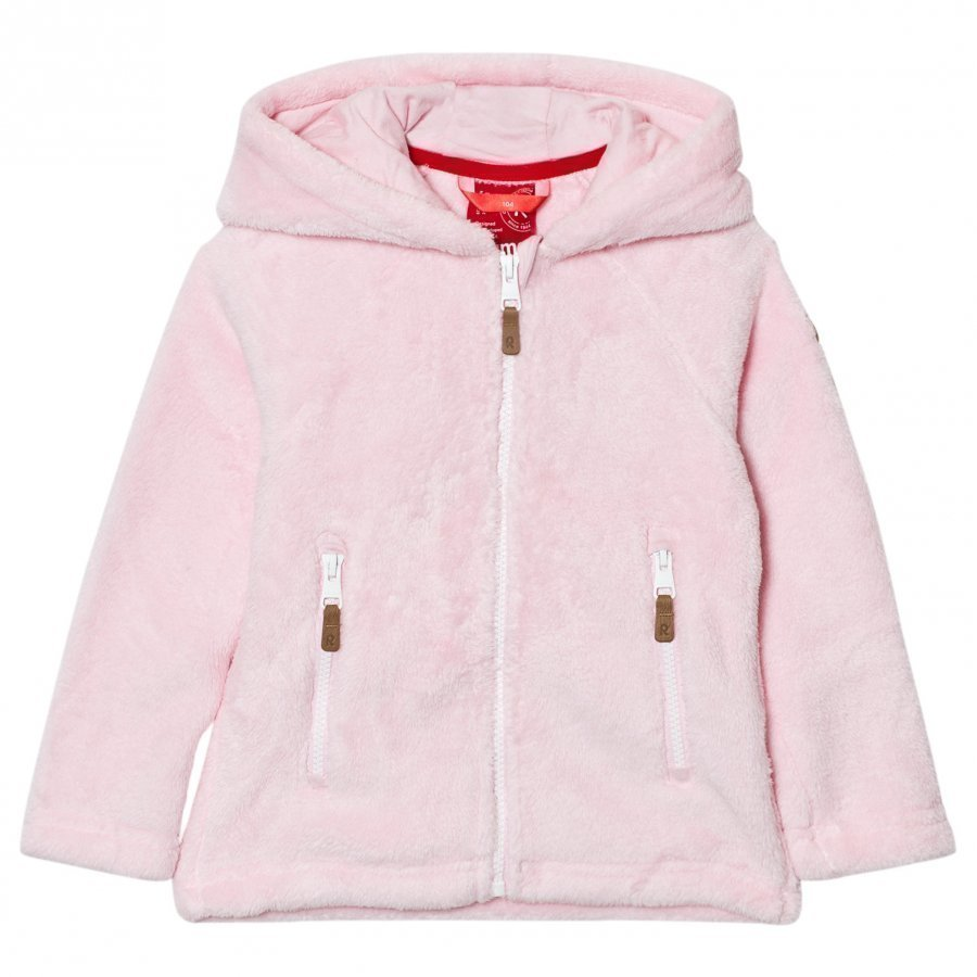 Reima Vilja Fleece Sweater Pale Rose Fleece Huppari