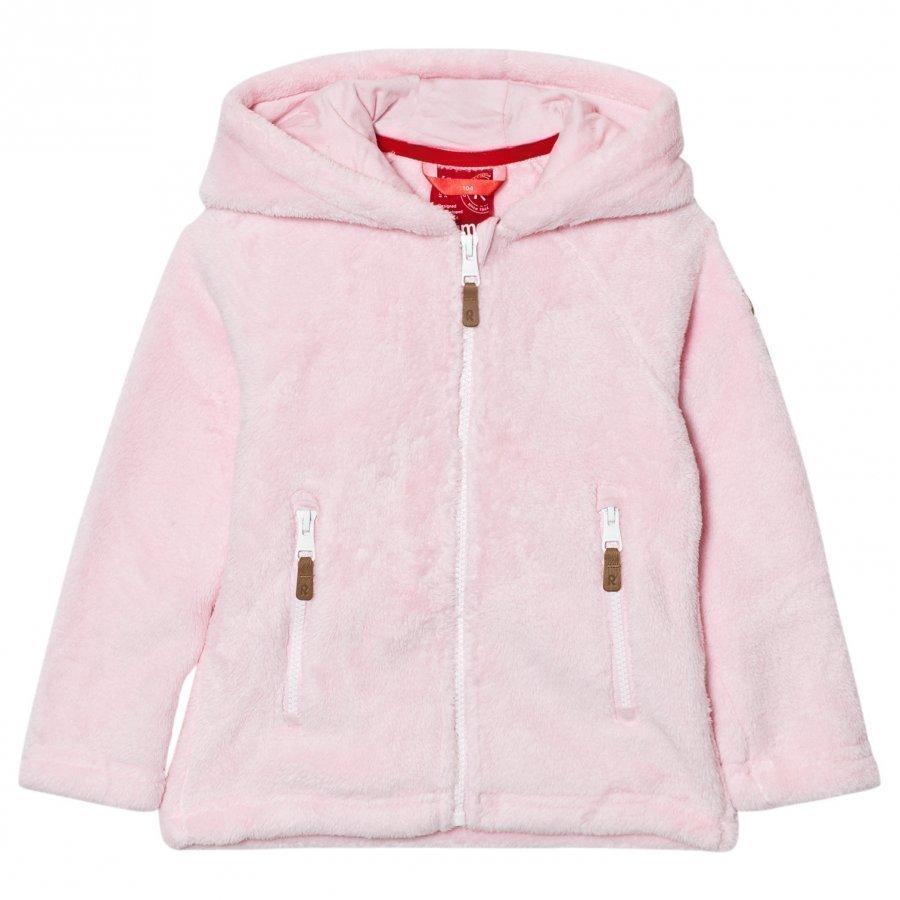 Reima Vilja Fleece Sweater Pale Rose Fleece Huppari