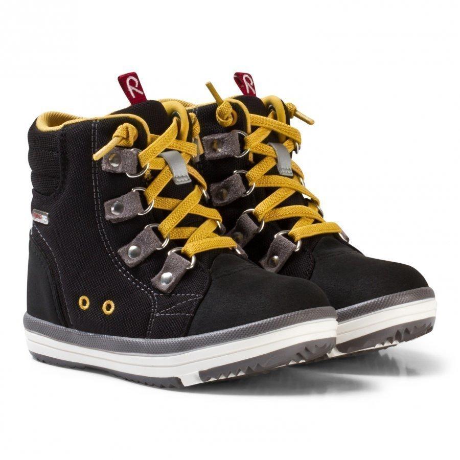 Reima Wetter Wash Reimatec Shoes Black Korkeavartiset Kengät