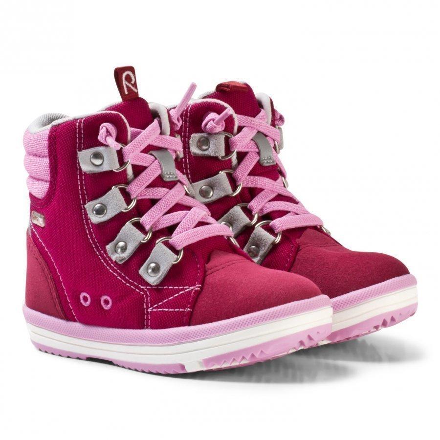 Reima Wetter Wash Reimatec Shoes Dark Berry Korkeavartiset Kengät