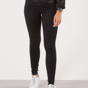 Replay Hyperflex Skinny Fit Jeans Farkut Musta