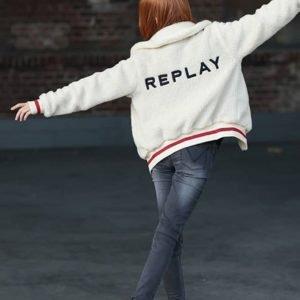Replay Jacket Takki Valkoinen