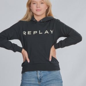 Replay Jumper Huppari Musta