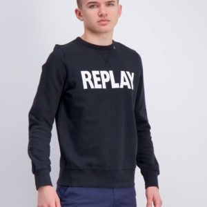 Replay Jumper Neule Musta