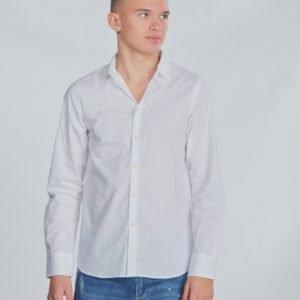 Replay Shirt Kauluspaita Valkoinen