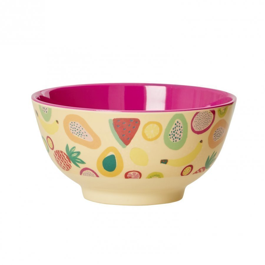 Rice A/S Melamine Bowl Fruit Print Kulho