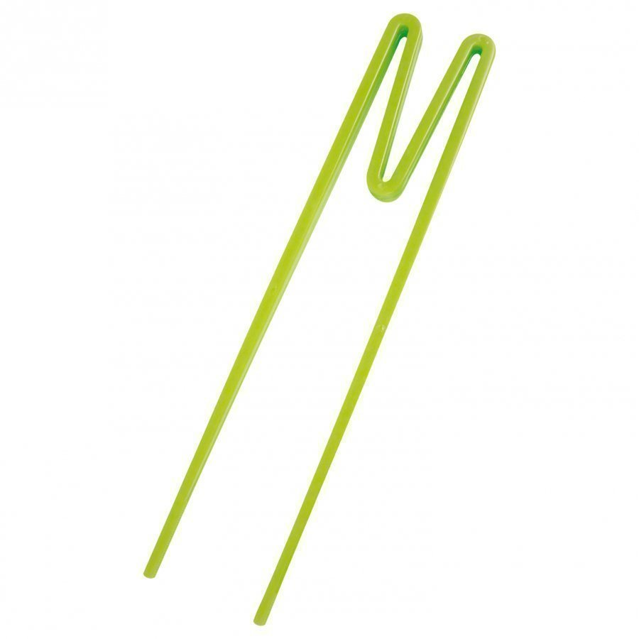 Rice A/S Plastic 'Beginner Friendly' Chopsticks Green Ruokailuvälineet