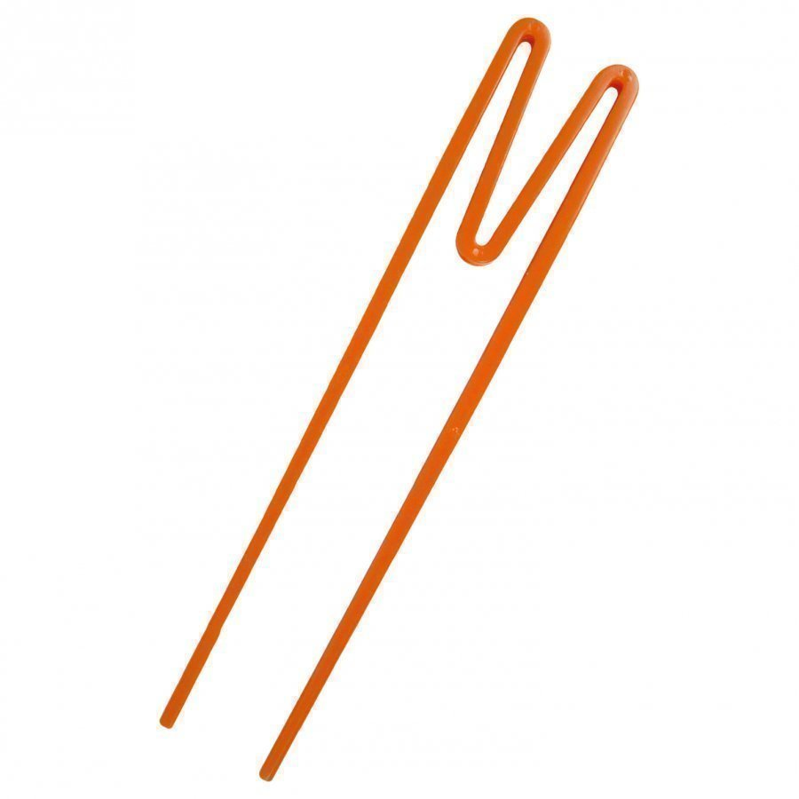 Rice A/S Plastic 'Beginner Friendly' Chopsticks Orange Ruokailuvälineet