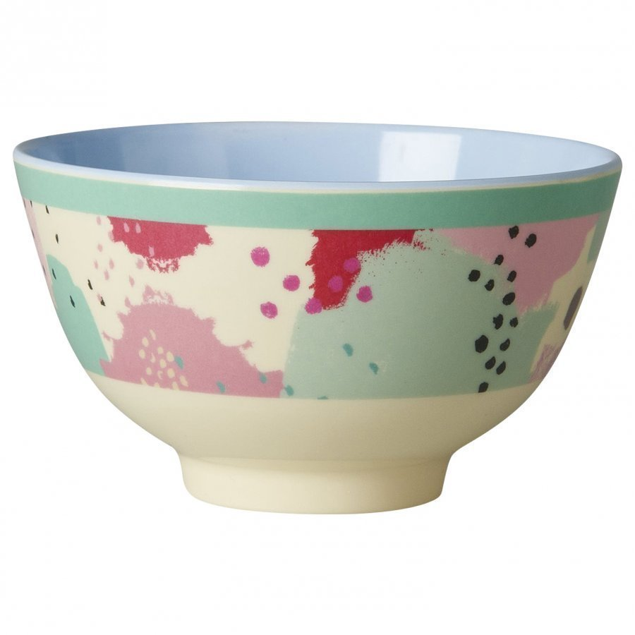 Rice A/S Small Melamine Bowl With Splash Print Kulho