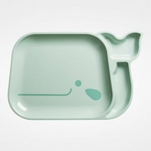 Rice Blue Whale Plate Lautanen
