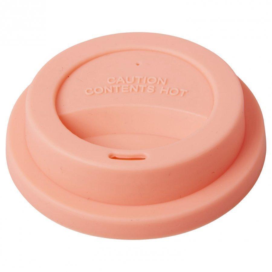 Rice Latte Cup Silicone Lid Neon Pink Nokkamuki