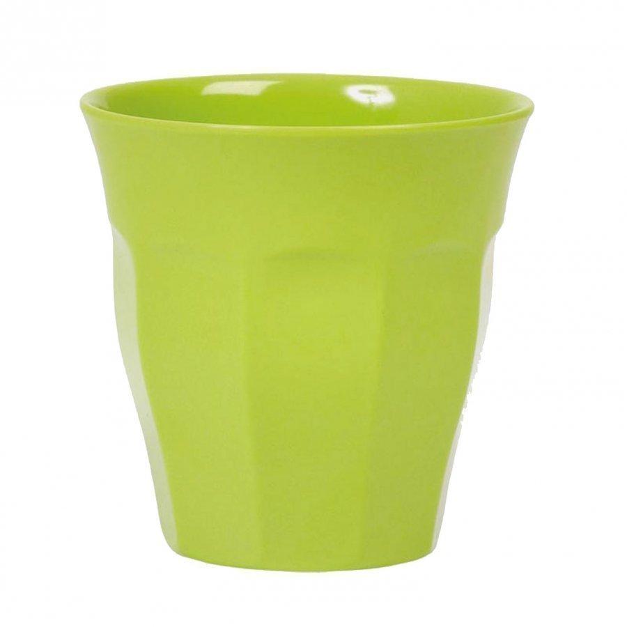 Rice Melamine Cup Green Muki