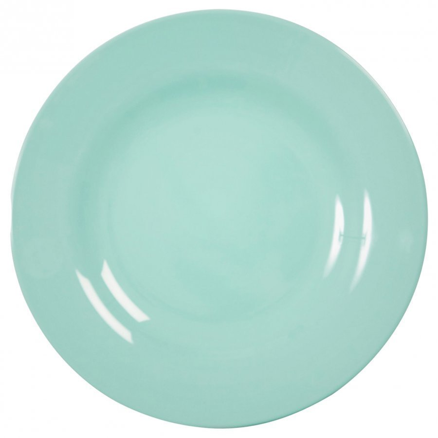 Rice Melamine Round Side Plate Dark Mint Lautanen