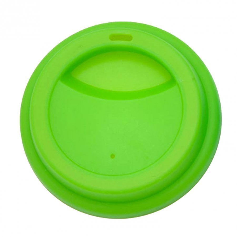 Rice Silicone Lid Latte Cups Green Nokkamuki