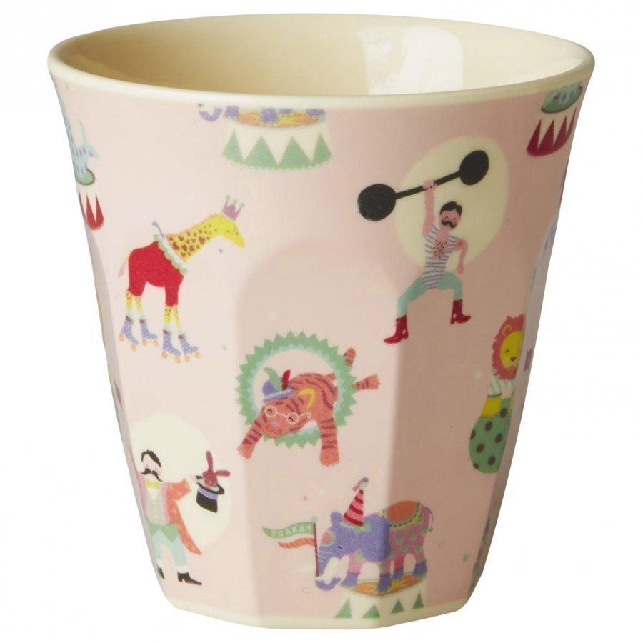 Rice Small Melamine Cup Circus Print Nokkamuki