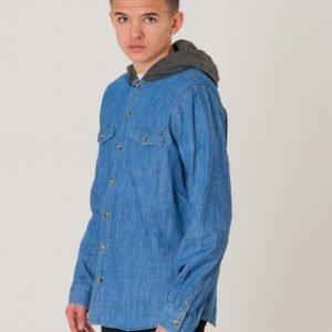 Rip Curl Denim Boy Shirt Kauluspaita Sininen