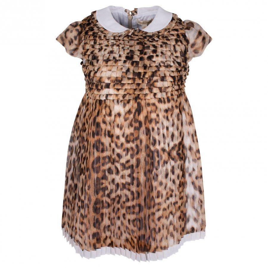 Roberto Cavalli Dress Beige/Brown Mekko