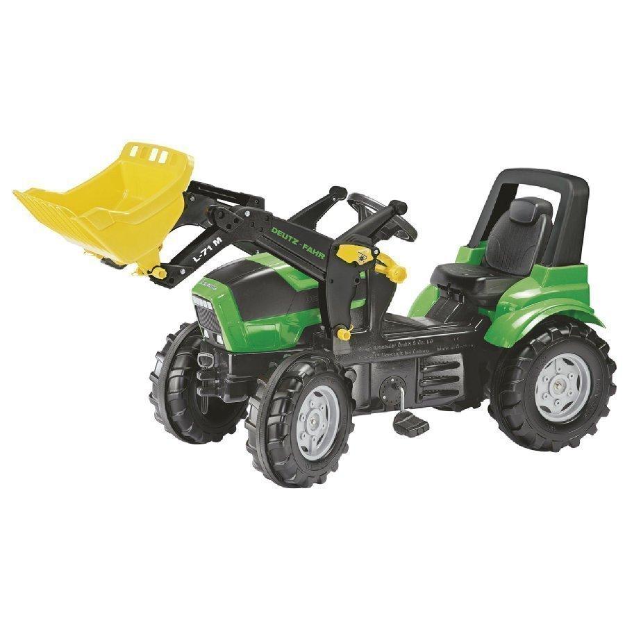 Rolly Toys Farmtrac Traktori Deutz Fahr Agrotron X 720 + Kauha