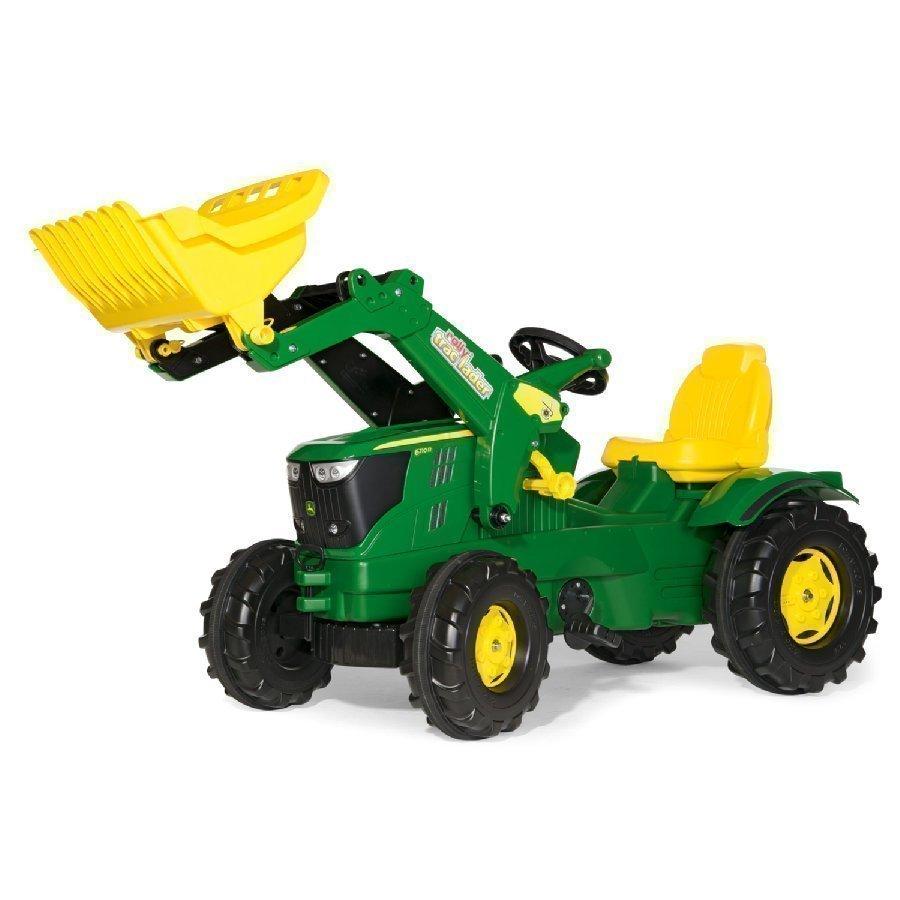 Rolly Toys Farmtrac Traktori John Deere 6210 R + Kauha 611096