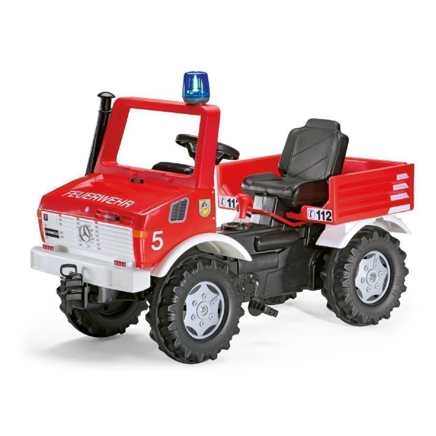 Rolly Toys Rollyfire Paloauto Unimog + Vaihteet Ja Jarru 036639