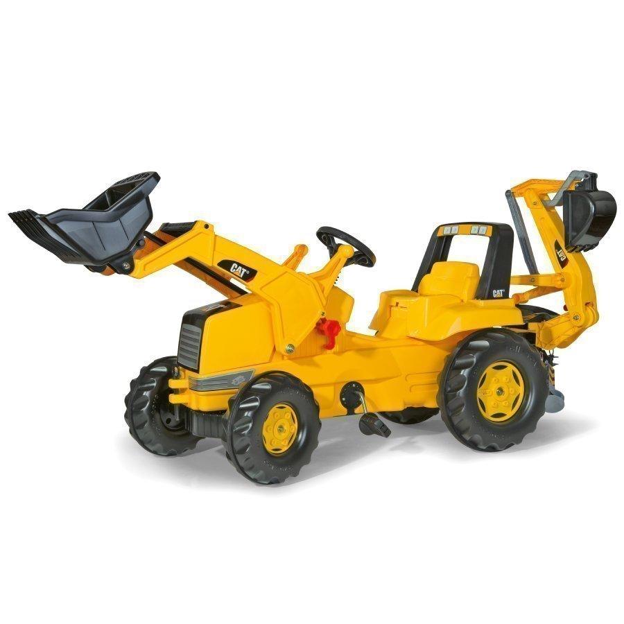 Rolly Toys Rollyjunior Traktori Etu Ja Takakauhalla Cat 813001