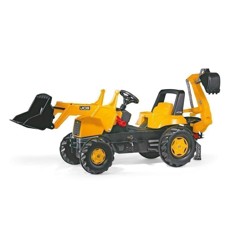 Rolly Toys Rollyjunior Traktori Etu Ja Takakauhalla Jcb 812004