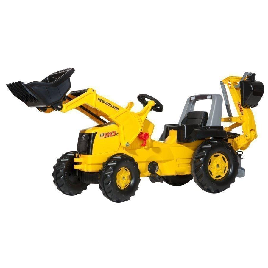 Rolly Toys Rollyjunior Traktori Etu Ja Takakauhalla Nh 813117