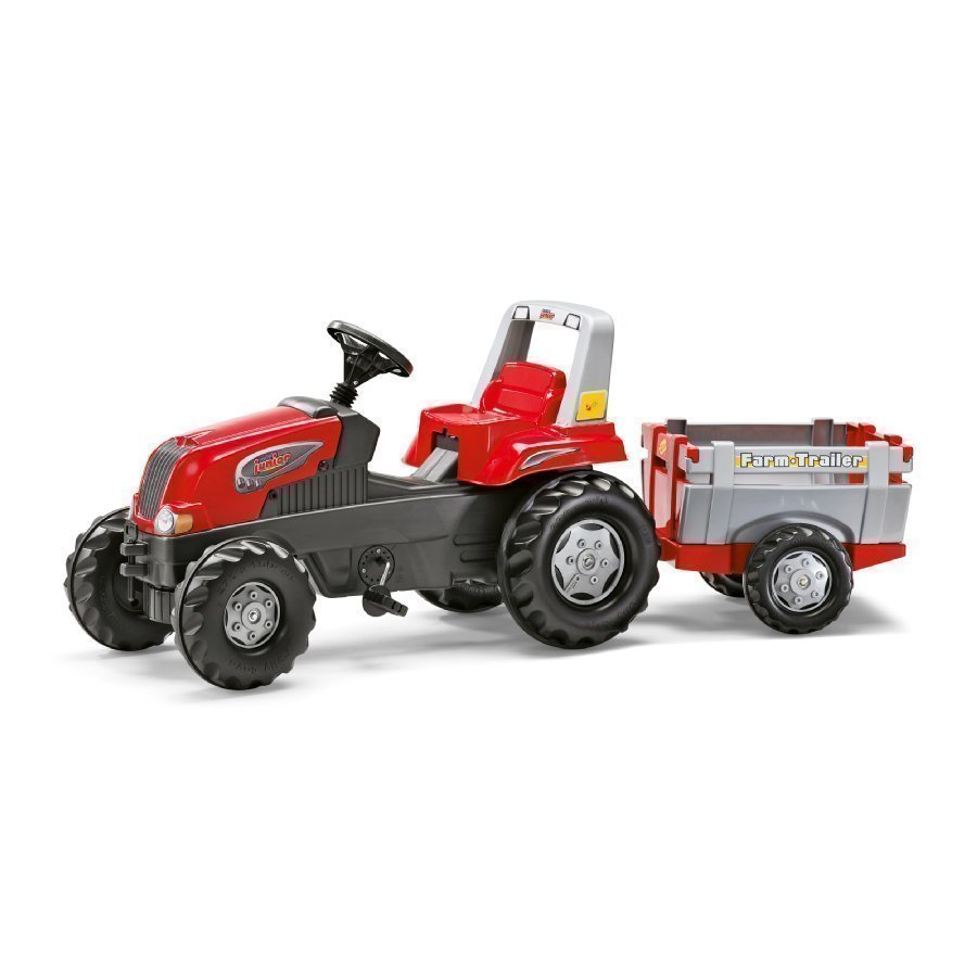 Rolly Toys Rollyjunior Traktori Perälavalla Rt 800261