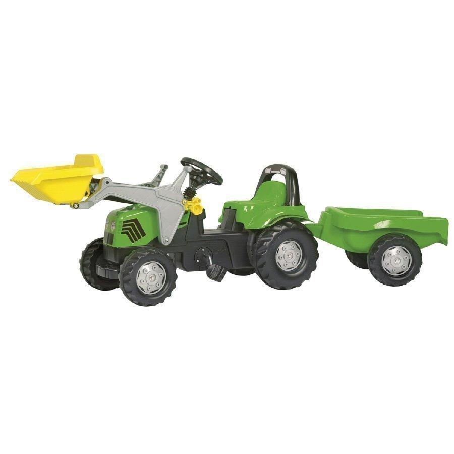 Rolly Toys Rollykid Traktori Deutz Fahr + Kauha Ja Peräkärry