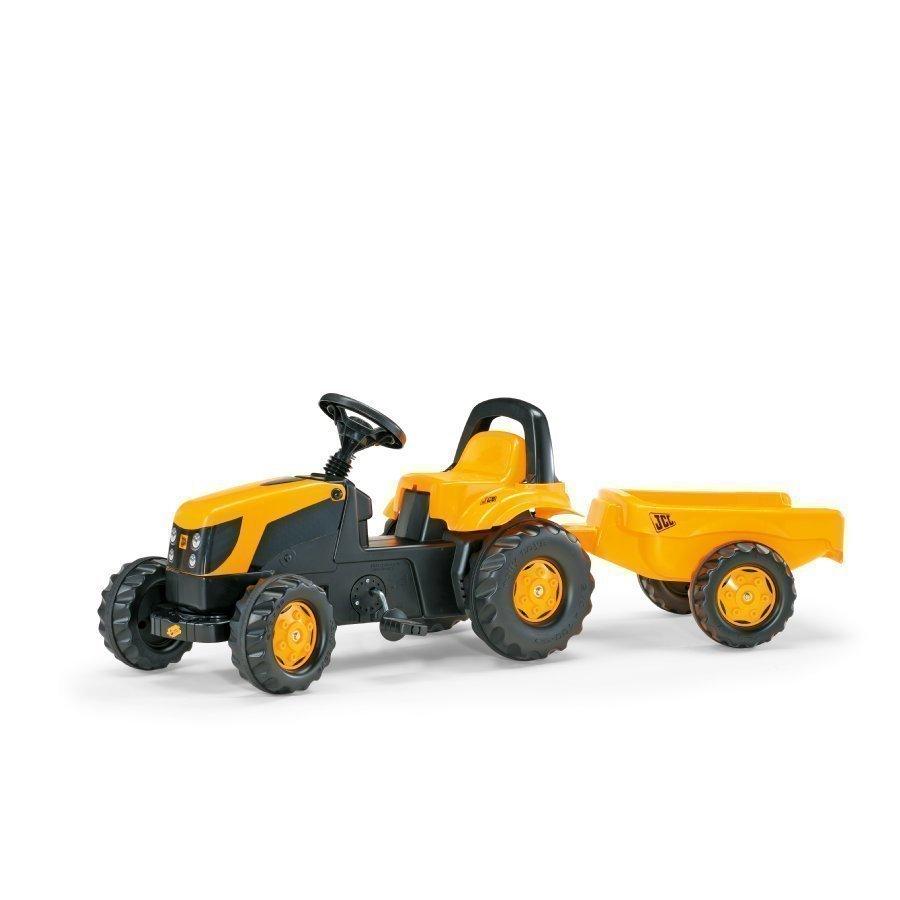 Rolly Toys Rollykid Traktori Peräkärryllä Jcb 012619