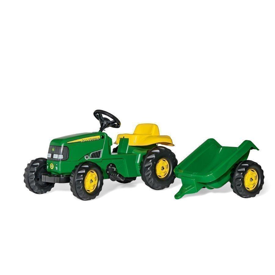 Rolly Toys Rollykid Traktori Peräkärryllä John Deere 012190