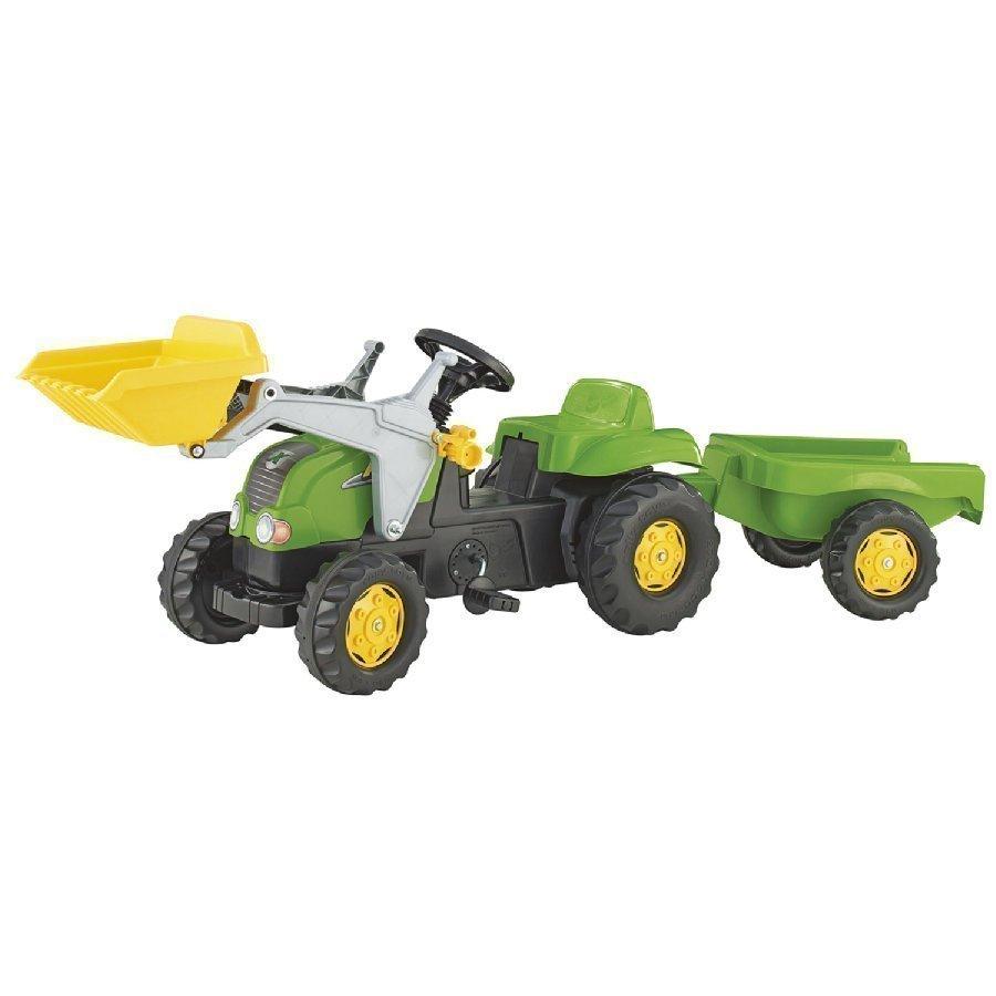 Rolly Toys Rollykid X Traktori + Kauha Ja Peräkärry