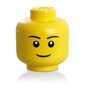 Room Copenhagen Lego Iso Säilytyspää Lego Iso Keltainen