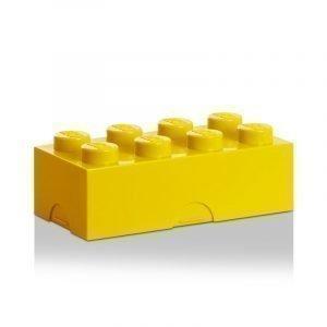 Room Copenhagen Lego Lounaslaatikko 8 Keltainen
