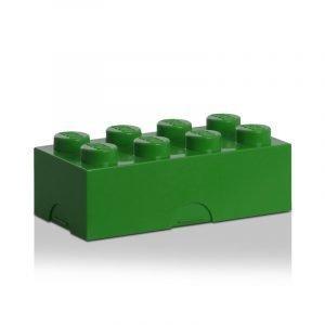 Room Copenhagen Lego Lounaslaatikko 8 Tummanvihreä
