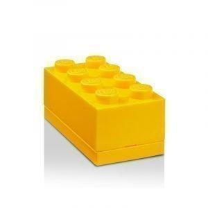 Room Copenhagen Lego Mini Säilytyslaatikko 8 Keltainen