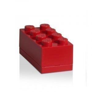 Room Copenhagen Lego Mini Säilytyslaatikko 8 Punainen