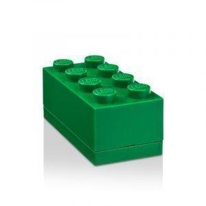Room Copenhagen Lego Mini Säilytyslaatikko 8 Tummanvihreä
