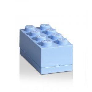 Room Copenhagen Lego Mini Säilytyslaatikko 8 Vaaleansininen