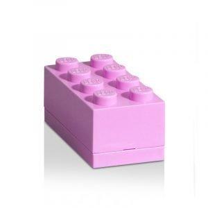 Room Copenhagen Lego Mini Säilytyslaatikko 8 Vaaleanvioletti