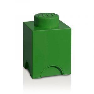Room Copenhagen Lego Säilytyslaatikko 1 Tummanvihreä